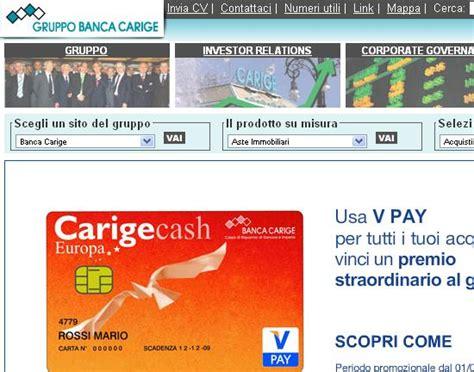 www carige on line tutto quello devi sapere sulle carte di credito di