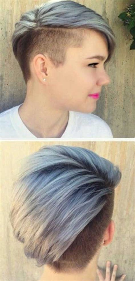 half shaved pixie haircut short hairstyles with side shave 2016 blackhairstylecuts com