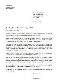 Brief Kv Schweiz Vorlagen F 252 R Die Lehrstellenbewerbung