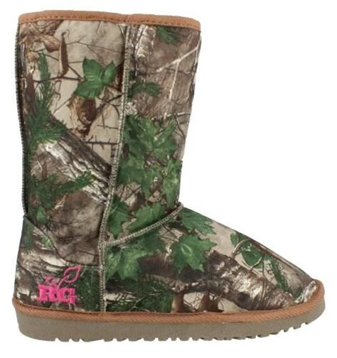 realtree by duckhead carson boot womens shoe boots