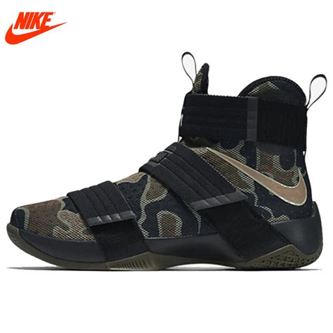 camouflage basketball shoes nike original lebron soldier 10 s cool camouflage