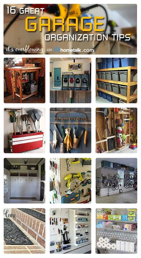 organizing garage ideas garage organization ideas
