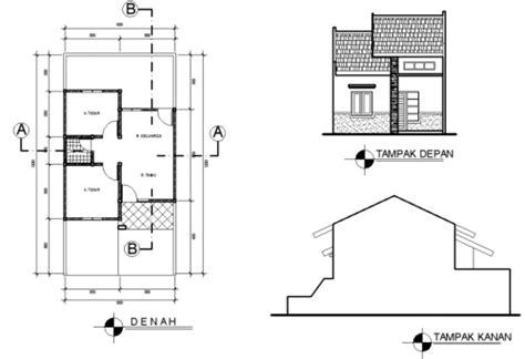 12 contoh denah rumah sederhana 2017