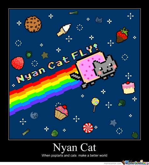 Nyan Meme - nyan cat by kimmyqueen meme center