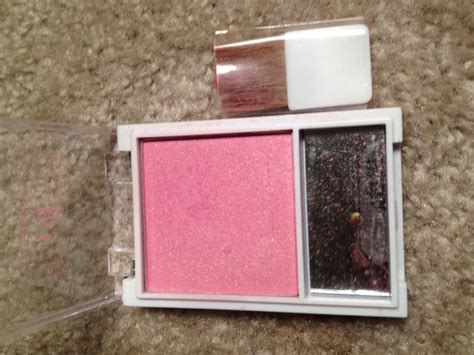 E L F Essential Blush With Brush try e l f essential blush and brush in shade blushing and
