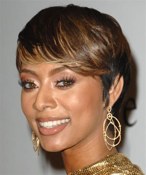 what type of hair does keri hilson have keri hilson short straight formal hairstyle