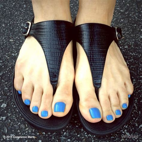 Sandal Belleza constance in sandals and bright blue