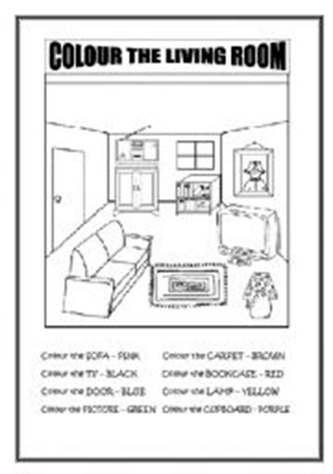 Living Room Worksheets Teaching Worksheets Living Room