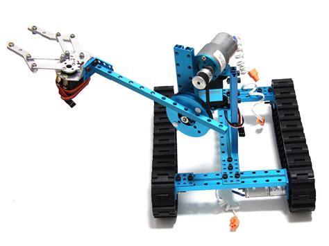 ultimate robot makeblock ultimate robot kit blue robotics kits seeed studio