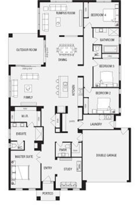 The 25 Best House Plans Australia Ideas On Pinterest 4 Bedroom House Designs Australia