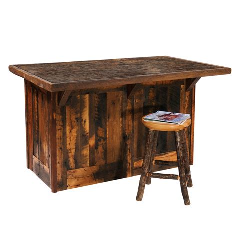 Barnwood Kitchen Island | barnwood 60 quot kitchen island