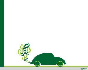 energy design for powerpoint eco green car powerpoint