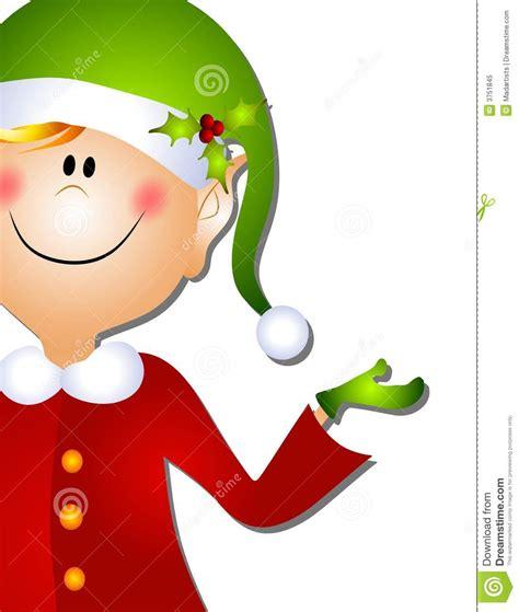 christmas santa elf clip art 3 stock illustration image