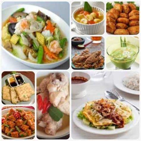 rekomendasi menu buka puasa  sahur   hari