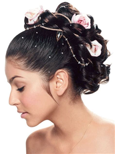 Hairstyles For 15 Anos by Quinceanera Updo With Flowers Quinceanera Floral Updo