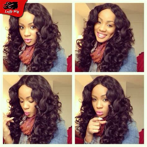 wigs for heavy women full density deep body wave full lace human hair wigs for