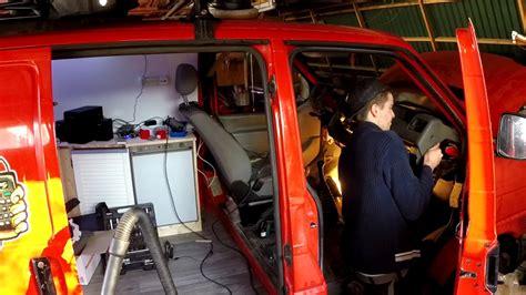 T4 Lackieren Lassen by Amaturenbrett Ausbau Lackieren Vw T4 Winter Project