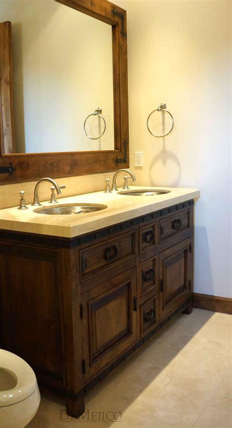 bathroom sink spanish spanish vanities custom rustic doors custom doors demejico