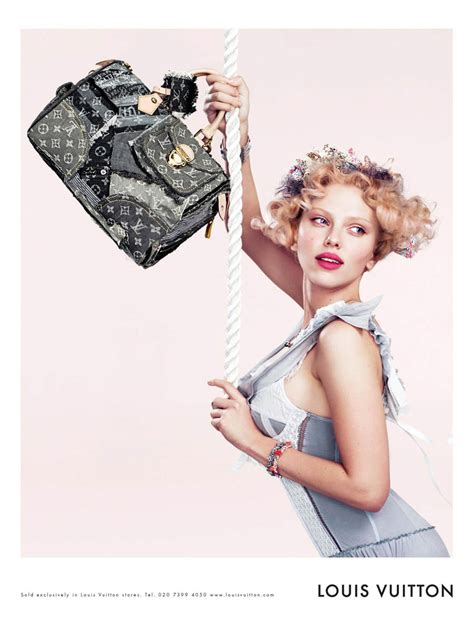 Johanssons New Louis Vuitton Ads by Hollywoodtuna