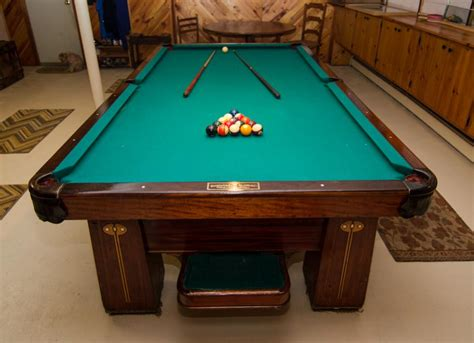 brunswick monarch pool table brunswick balke collender antique pool table