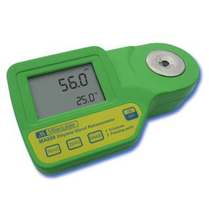 Alat Test Salinity Refractometer by Milwaukee Ma888 Digital Refractometer For Ethylene