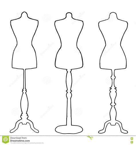 Mannequin Outline by Image Gallery Mannequin Outline