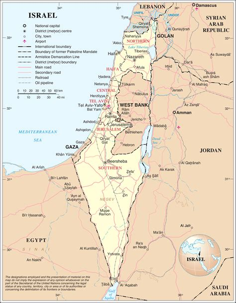 hayovel 187 maps of israel file un israel png wikipedia