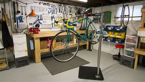 Home Garage Workshop save money by setting up your own home bike workshop