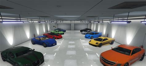 garaje auto single player garage spg gta5 mods