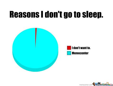 Go Sleep Meme - reasons why i don t go to sleep by guineapig meme center