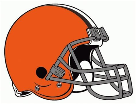 compare new and old browns helmet in one gif