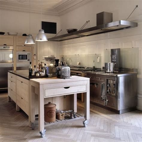 island wheels part the this case kitchen pinterest long narrow islands and