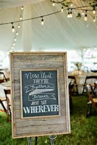 wedding seating signs august 2014