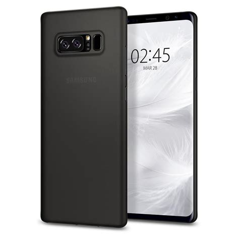 Silikon Note 8 Black Motif Android spigen galaxy note 8 airskin spigen inc