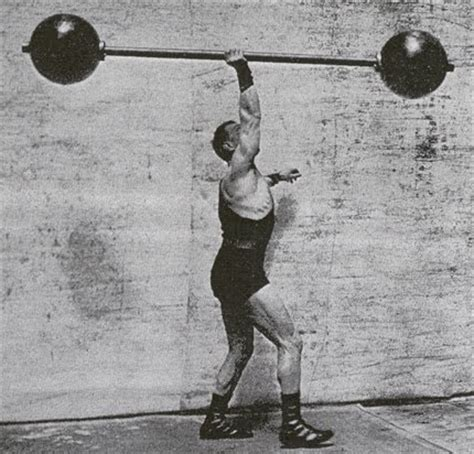 the one arm barbell press a unique exercise for shoulder