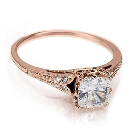 gold engagement ring vintage engagement rings nyc