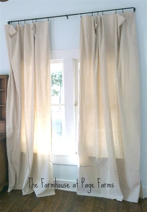 www curtains com winter s curtain call this old farmhouse