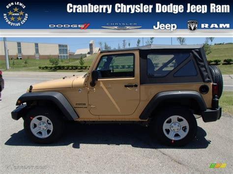 beige jeep 2013 dune beige jeep wrangler sport 4x4 82446537