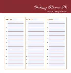 wedding guest list template 7 free samples examples
