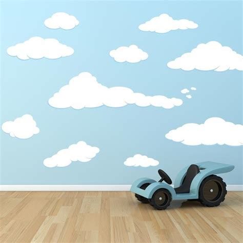 cloud stickers for walls cloud decals cloud stickers for walls wall decal world