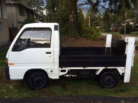 Mini Truck Wheels Canada 1991 Subaru Sambar Mini With Power Lift Gate And