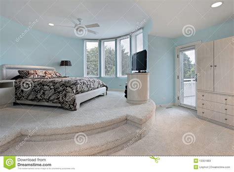 sleeping bedroom bedroom in step up sleeping area stock image image of