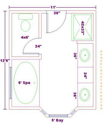 bathroom floor plans by size standard master bathroom size 938