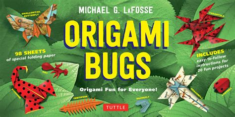 everyone can learn origami books origami bugs newsouth books