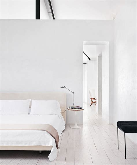 minimalistic bed minimalist interiors inspiration for my new house anne sage