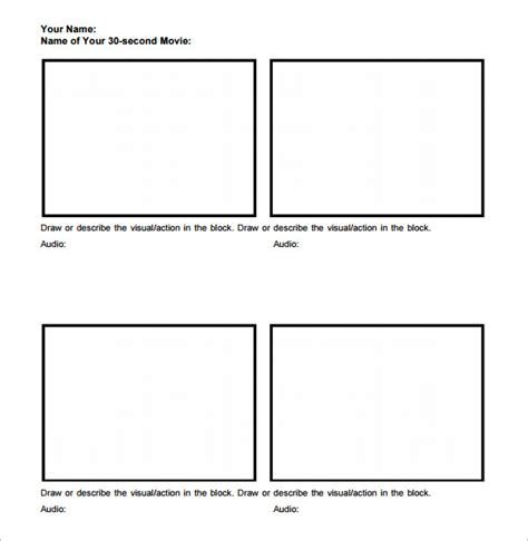 7 Movie Storyboard Templates Doc Excel Pdf Ppt Free Premium Templates Microsoft Excel Storyboard Template