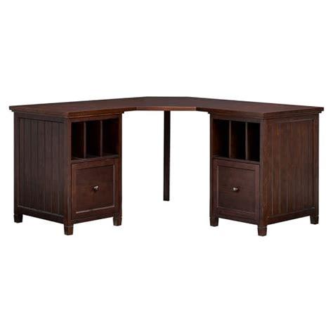 beadboard desk beadboard corner divider desk pbteen