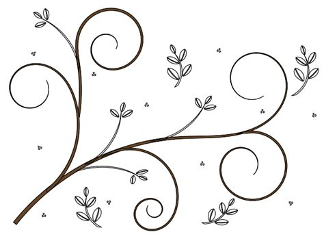 easy floral designs simple flower border designs to draw clipart best