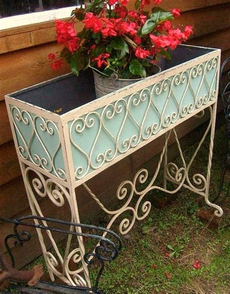 Antique Wrought Iron Planters by Antique Vintage 1870s 1900s Southern Country