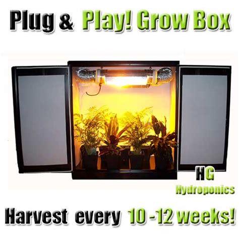 Mini Stealth Grow Cabinet